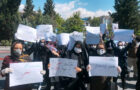 اعتراض پرستاران شرکتی در اردیبهشت ماه ۱۳۹۹
