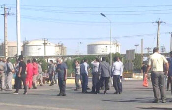 اعتراضات کارگران پتروشیمی رازی ماهشهر