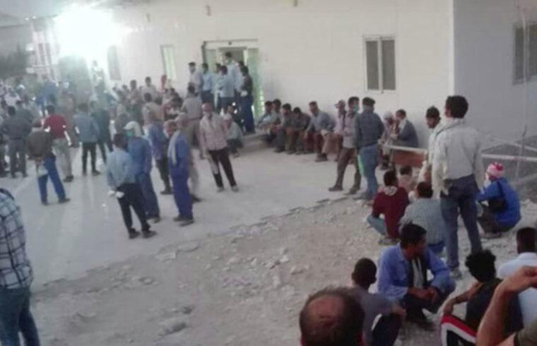 اعتصاب، فوران خشم فروخوردهی کارگران کنگان